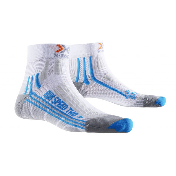 X-Socks Run Speed Two Socks Women White/Turquoise