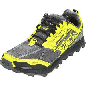 Altra Lone Peak 4 Running Shoes Herren gray/yellow gray/yellow