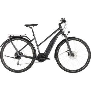 Cube Touring Hybrid 400 Trapez Iridium'n'Black bei fahrrad.de Online