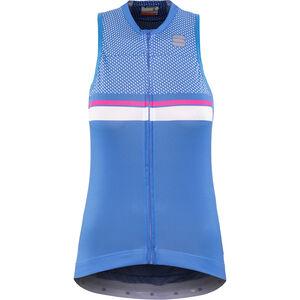 Sportful Diva 2 Sleeveless Jersey Damen parrot blue/bubble gum/white parrot blue/bubble gum/white