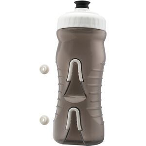 Fabric Cageless Bottle 600ml grey/white grey/white