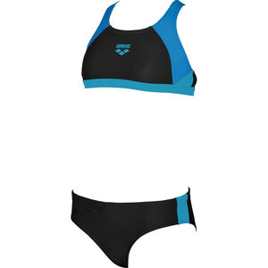 arena Ren Two-Pieces Swimsuit black-pix blue-turquoise