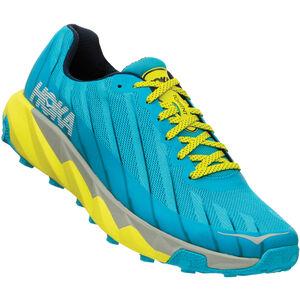 Hoka One One Torrent Running Shoes Men cyan blue/citrus