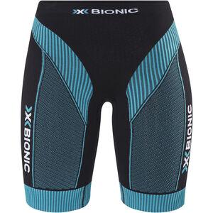 X-Bionic Effektor Running Power Pants Short Women Black/Turquoise bei fahrrad.de Online