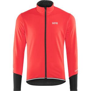 GORE WEAR C5 Windstopper Thermo Jacket Herren red/black