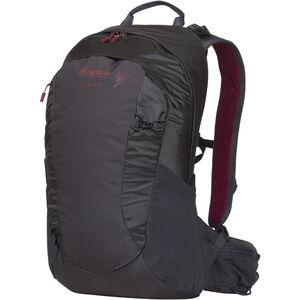 Bergans Senja 14 Daypack Damen solid charcoal/burgundy solid charcoal/burgundy