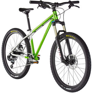 "Early Rider Hellion Trail MTB Hardtail 24"" Kinder brushed aluminum/lime brushed aluminum/lime"
