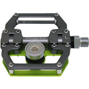 magped Sport Magnetpedale grau/grün grau/grün