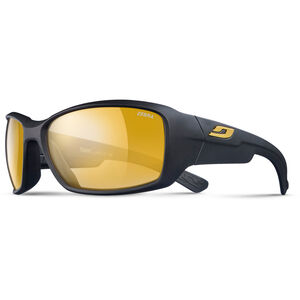 Julbo Whoops Zebra Sunglasses Matt Black-Yellow/Brown