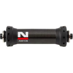 Novatec Ultralight Vorderradnabe Rennrad Carbon schwarz schwarz
