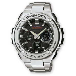 CASIO G-SHOCK GST-W110D-1AER Uhr Herren silver/white silver/white black silver/white silver/white black