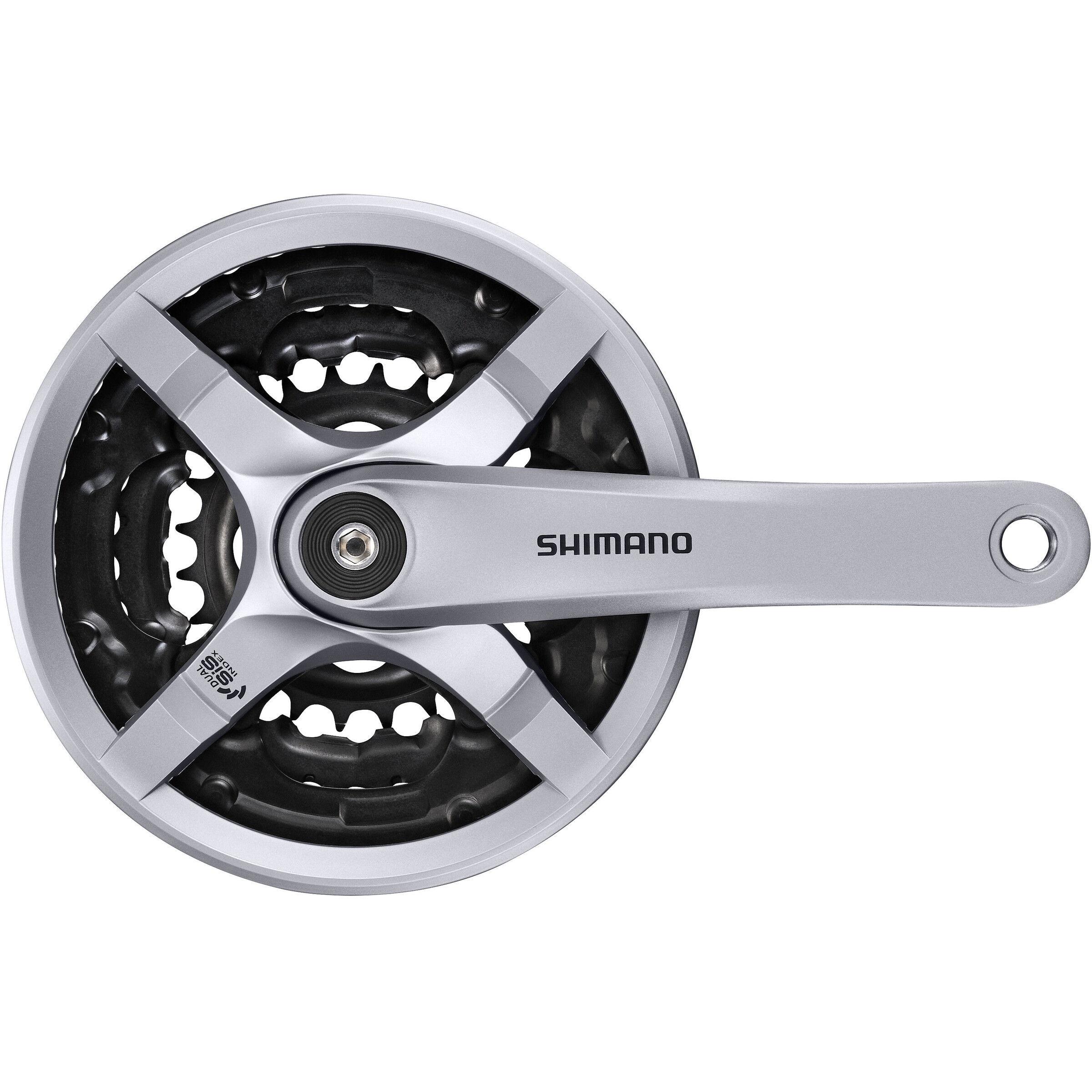 Kettenrad 7//8 Gang Shimano kompatibel 48-38-28 Fahrrad Kurbelgarnitur Sunrace
