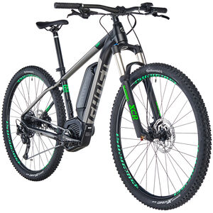 "Ghost Hybride Teru B 4.9 AL 29"" jet black/urban gray/riot green jet black/urban gray/riot green"