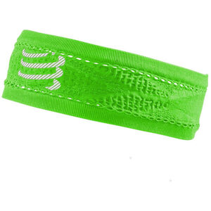 Compressport Thin On/Off Headband fluo green fluo green
