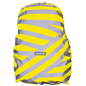 Wowow Berlin Rucksack Cover silber reflektierende streifen gelb silber reflektierende streifen gelb