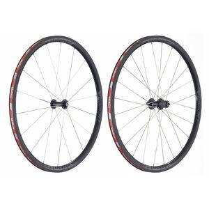 FSA Vision Team 30 Laufradsatz Clincher Shimano schwarz-grau schwarz-grau