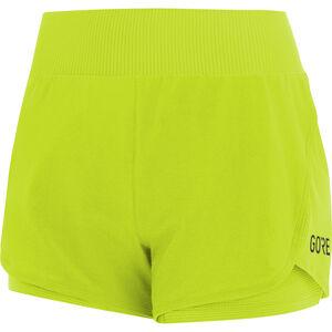 GORE WEAR R7 2in1 Shorts Damen citrus green citrus green