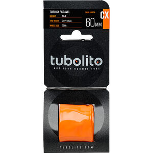 tubolito Tubo-CX/Gravel Schlauch orange orange