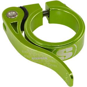 Sixpack Menace Sattelklemme Ø34,9mm electric-green electric-green