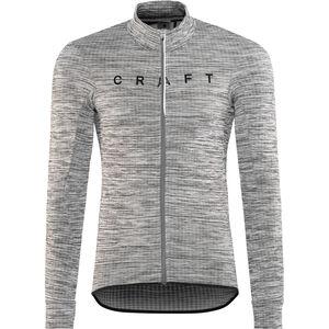 Craft Reel Thermal Jersey Herren dk grey melange/black dk grey melange/black