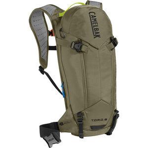 CamelBak T.O.R.O. Protector 8 Trinkrucksack Dry Burnt Olive/Lime Punch