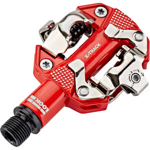 Look X-TRACK Pedale red red
