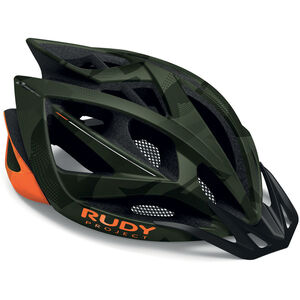 Rudy Project Airstorm MTB Helmet olive green/orange camo olive green/orange camo