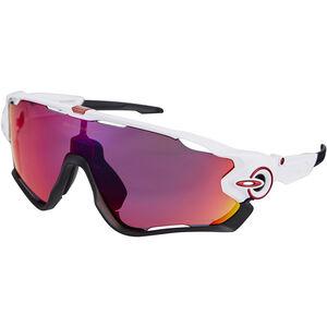 Oakley Jawbreaker Sunglasses prizm road/polished white bei fahrrad.de Online