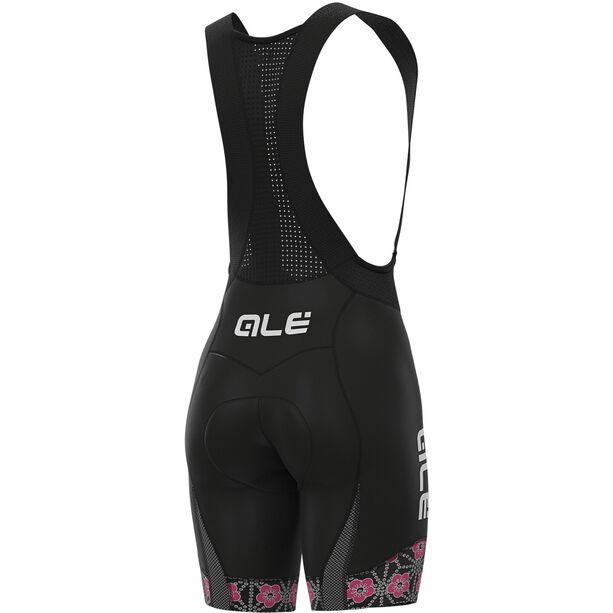 Alé Cycling PR-S Garda Trägershorts Damen black/fluo pink