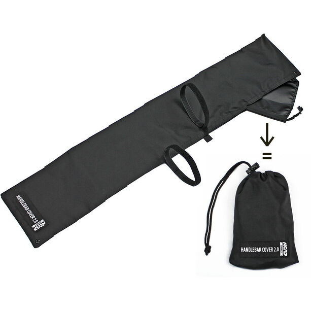 NC-17 Connect Sattel/Lenker-Cover One Size Fits All schwarz