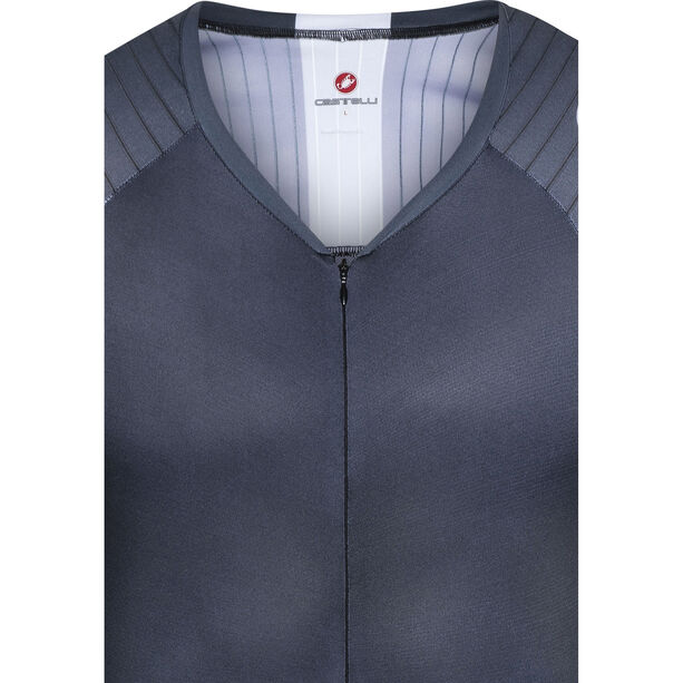Castelli Body Paint 3.3 Speed Suit LS Herren black/white