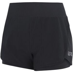 GORE WEAR R7 2in1 Shorts Damen black black