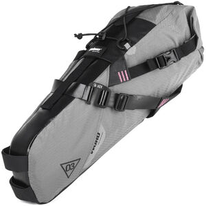 WOHO X-Touring Saddle Dry Bag M honeycomb iron grey honeycomb iron grey