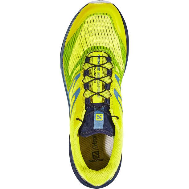 Salomon Sense Escape 2 Shoes Herren sulphur spring/navy blazer/bluestone