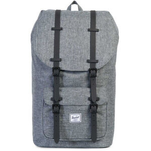 Herschel Little America Backpack raven crosshatch/black rubber raven crosshatch/black rubber