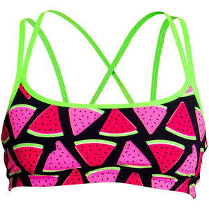 Funkita Criss Cross Top Damen melon crush melon crush