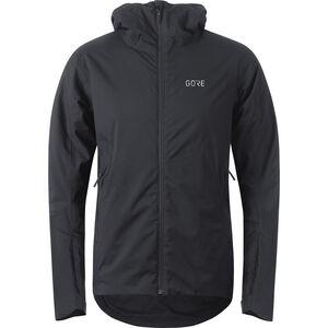 GORE WEAR C3 Thermium Hooded Jacket Herren black black