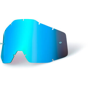 100% Replacement Lenses Kinder blue / mirror blue / mirror