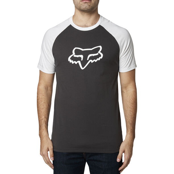 Fox Blocked Premium Kurzarm T-Shirt Herren black/white