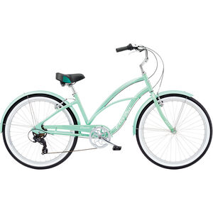 "Electra Cruiser Lux 7D 26"" Damen sea green metallic sea green metallic"