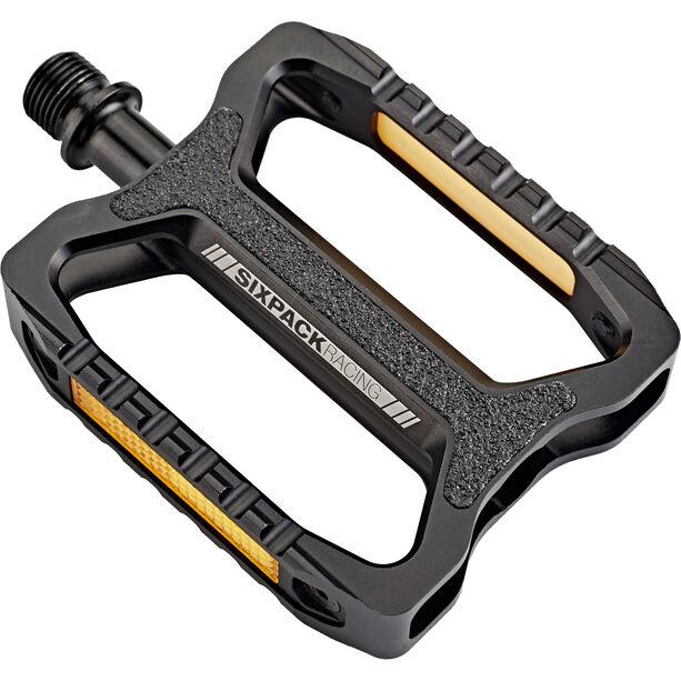 Sixpack Network Pedals black