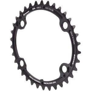 Rotor Ovales Kettenblatt für ALDHU/Shimano black black