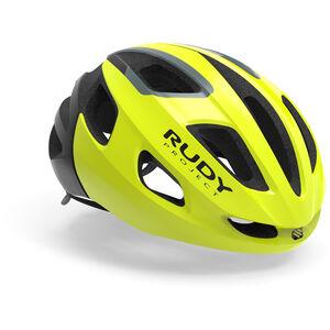 Rudy Project Strym Helmet yellow fluo shiny yellow fluo shiny