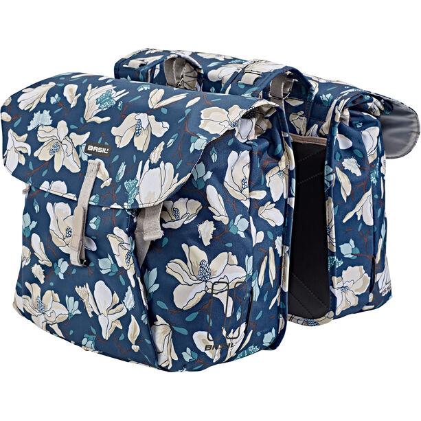 Basil Magnolia Doppel-Gepäckträgertasche 35l teal blue