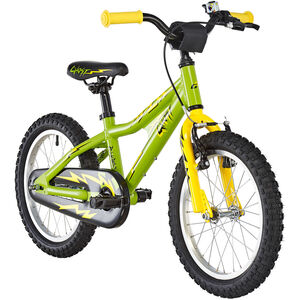 Ghost Powerkid AL 16 riot green/cane yellow/night black bei fahrrad.de Online