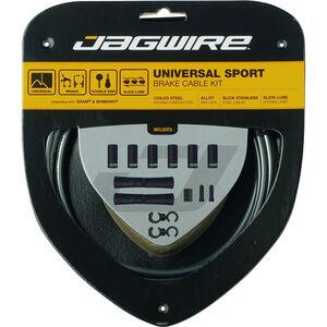 Jagwire Sport Universal Bremszugset für Shimano/SRAM eisgrau eisgrau