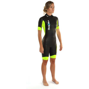 Dare2Tri Swim&Run Go Wetsuit Women black/yellow bei fahrrad.de Online