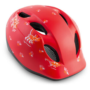 MET Buddy Helm Kinder red animals red animals