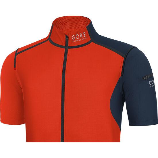 GORE RUNNING WEAR Fusion WS SO Zip Off Shirt Men bei fahrrad.de Online