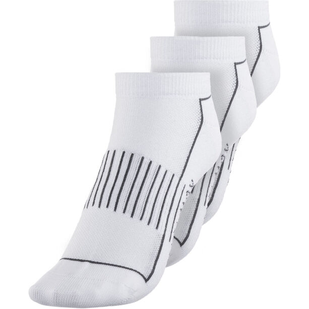 Endura Coolmax Stripe Socks 3-Pack Damen white